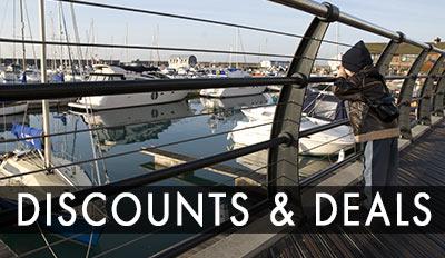 Brighton Marina discounts and deals